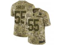 #55 Limited Za'Darius Smith Camo Football Men's Jersey Green Bay Packers 2018 Salute to Service