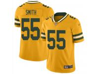#55 Limited Za'Darius Smith Gold Football Men's Jersey Green Bay Packers Inverted Legend Vapor Rush