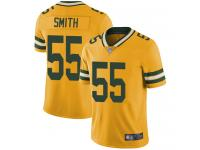 #55 Limited Za'Darius Smith Gold Football Men's Jersey Green Bay Packers Rush Vapor Untouchable