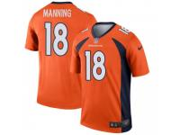 Legend Vapor Untouchable Men's Peyton Manning Denver Broncos Nike Jersey - Orange