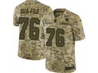 Limited Men's Xavier Su'a-Filo Dallas Cowboys Nike 2018 Salute to Service Jersey - Camo