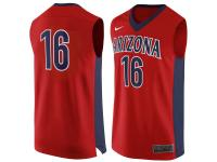 Men Arizona Wildcats #16 Nike Replica Jersey - Red