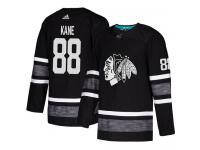 Men's Chicago Blackhawks #88 Patrick Kane Adidas Black Authentic 2019 All-Star NHL Jersey