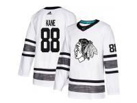 Men's Chicago Blackhawks #88 Patrick Kane Adidas White Authentic 2019 All-Star NHL Jersey