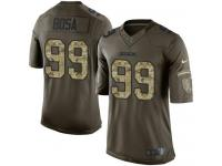 Nike Chargers #99 Joey Bosa Green Youth Stitched NFL Limited Salute to Service Jerse