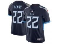 Nike Derrick Henry Limited Navy Blue Home Men's Jersey - NFL Tennessee Titans #22 Vapor Untouchable