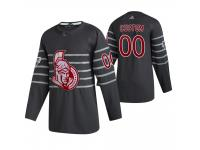 Ottawa Senators #00 Custom 2020 NHL All-Star Game Gray Jersey Men's