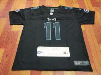 Tennessee Titans #11 A.J. Brown Black Football Men's Limited Jersey