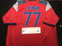 Tennessee Titans #77 Taylor Lewan Nike Red Vapor Untouchable Limited Jersey - Men/Women/Youth