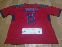 Tennessee Titans #8 Marcus Mariota Nike Red Vapor Untouchable Jersey - Men/Women/Youth