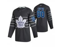 Toronto Maple Leafs #00 Custom 2020 NHL All-Star Game Gray Jersey Men's