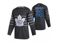 Toronto Maple Leafs #31 Frederik Andersen 2020 NHL All-Star Game Gray Jersey Men's